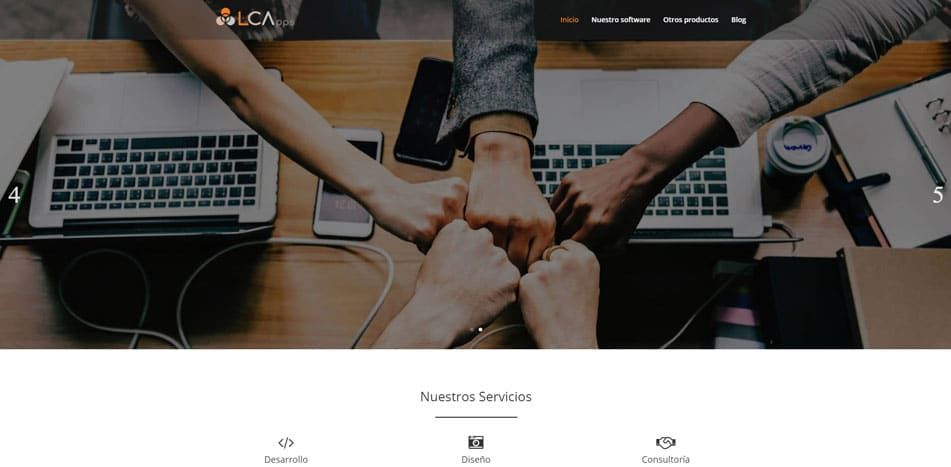 LCApps web